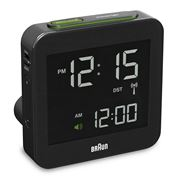 Braun - Digital Alarm Clock Large Black