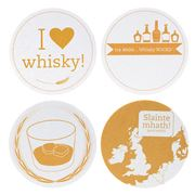 Teroforma - I Love Whisky Coaster Set 12pce