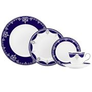 Lenox - Marchesa Empire Pearl Indigo Place Setting 5pce