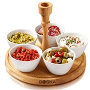Boska - Life Chip & Dip Tray Set 6pce