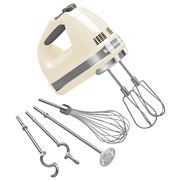 KitchenAid - Artisan Almond Cream 9 Speed Hand Mixer