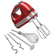 KitchenAid - Artisan Empire Red 9 Speed Hand Mixer