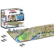 Games - 4D Cityscape Paris Jigsaw Puzzle 1100pce
