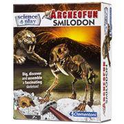 Clementoni - Archeofun Smilodon Kit