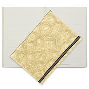 Christian Lacroix - Paseo Embossed A5 Journal Gold
