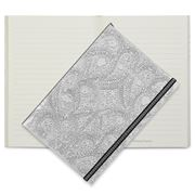 Christian Lacroix - Paseo Embossed A5 Journal Silver