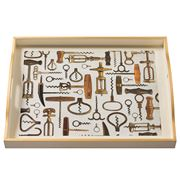 Whitelaw & Newton - Corkscrews On Cream Large Tray
