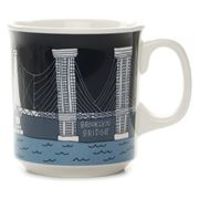 Fishs Eddy - Bridge & Tunnel Mug