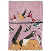 Fishs Eddy - Oldham + Harper Birds Feeding Station Tea Towel