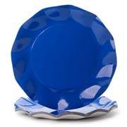 Ex.tra - Paper Plate Set Cobalt Blue 10pce
