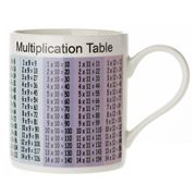 The Leonardo Collection - Multiplication Table Mug