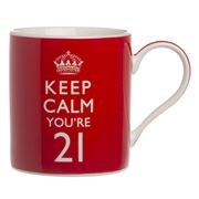 The Leonardo Collection - Keep Calm You're 21 Mug