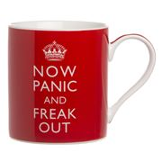 The Leonardo Collection - Now Panic & Freak Out Mug
