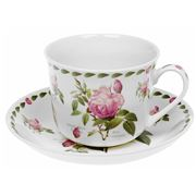 Redoute - Rose Teacup & Saucer Set 2pce