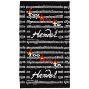 The Music Gifts Company - Too Hot To Handel Tea Towel