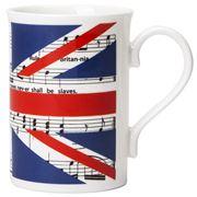 The Music Gifts Company - Rule Britannia Mug