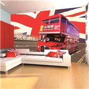 1Wall - London Bus Giant Wallpaper Mural
