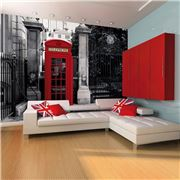 1Wall - London Phone Booth Giant Wallpaper Mural