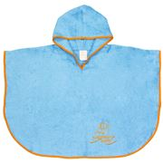 Cuddledry - Cuddleswim Toddler Swim Poncho Blue & Orange
