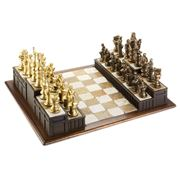 Approach The Bench - Legal Themed Chess Set