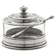 Match Pewter - Osteria Jam Pot with Spoon