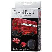 Games - 3D Crystal Jigsaw Puzzle London Bus 53pce