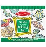 Melissa & Doug - Jumbo Colouring Pad Animals