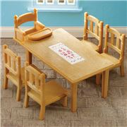 Sylvanian Families - Family Table & Chairs Set
