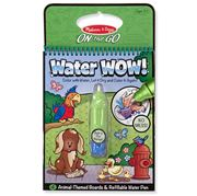 Melissa & Doug - Water Wow! Animal Colouring Pad