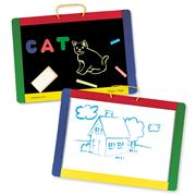 Melissa & Doug - Magnetic Double-sided Chalk & White Board