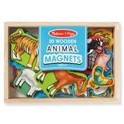 Melissa & Doug - Animal Magnets Set 20pce
