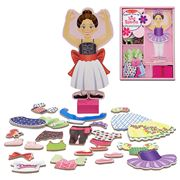 Melissa & Doug - Magnetic Dress-Up Nina Ballerina