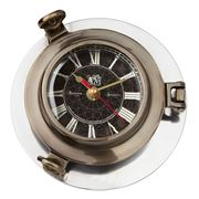 Authentic Models - Aluminium Porthole Clock