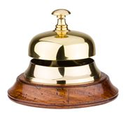 Authentic Models - Sailor's Inn Gold Desk Bell