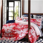 Florence Broadhurst - Spring Floral Cherry Q Quilt Cover Set