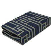 Florence Broadhurst - Yvans Quilt Cover Set Navy Queen