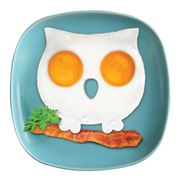 Fred - Funny Side Up Owl Egg Shaper
