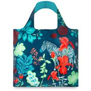 LOQI - Forest Zebra Reusable Bag