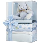 Boz Baby - Bubbles the Bunny Blue Baby Hamper