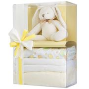 Boz Baby - Bubbles the Bunny Lemon Baby Hamper