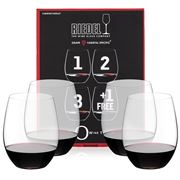 Riedel - O Series Cabernet Merlot Pay for 3 Get 4 Pack