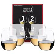 Riedel - O Series Viognier Chardonnay Pay for 3 Get 4 Pack