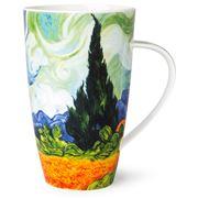 Dunoon - Impressionists Wheat Fields Henley Mug