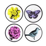 Ashdene - Le Jardin des Fleurs Coaster Set 4pce