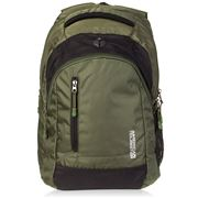 American Tourister - Buzz Olive Backpack with Rain Cover