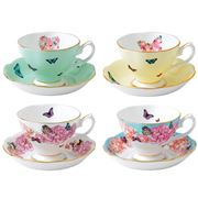 Royal Albert - Miranda Kerr Mixed Teacup & Saucer Set 8pce