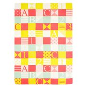 David Fussenegger - Patchwork ABC Multicoloured Blanket