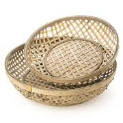 OneWorld - Rattan Basket Set 2pce