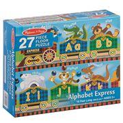 Melissa & Doug - Alphabet Express Floor Puzzle 27pce
