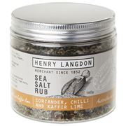 Henry Langdon - Coriander, Chilli & Kaffir Lime Sea Salt Rub